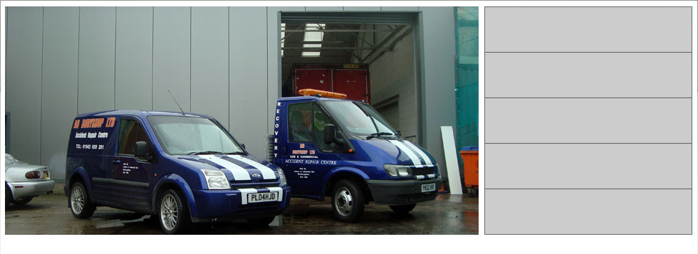 A6 Bodyshop Car Van HGV Commercial Body Shop Bolton Manchester